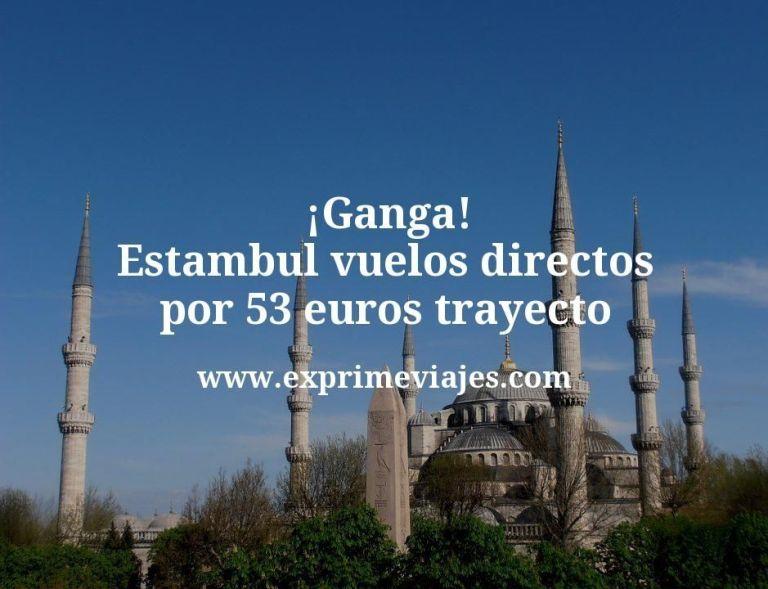 ¡Ganga! Estambul: Vuelos directos por 53euros trayecto