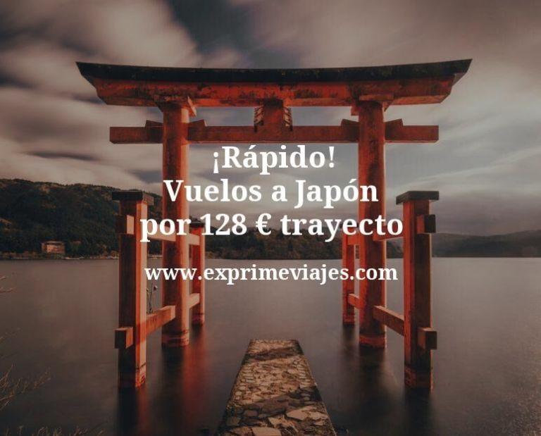 ¡Rápido! Vuelos a Japón por 128euros trayecto