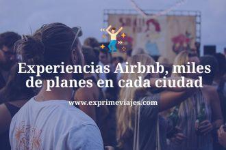 Experiencias airbnb
