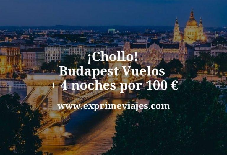 ¡Chollo! Budapest: Vuelos + 4 noches por 100euros