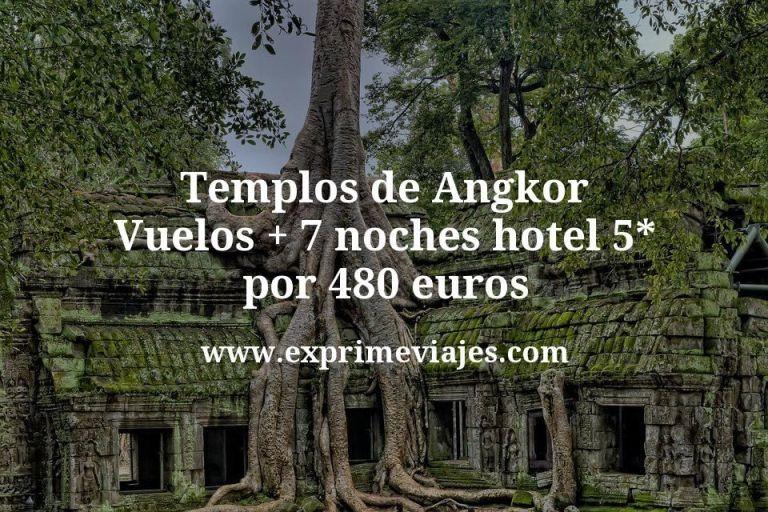 ¡Chollazo! Templos de Angkor: Vuelos + 7 noches hotel 5* por 480euros
