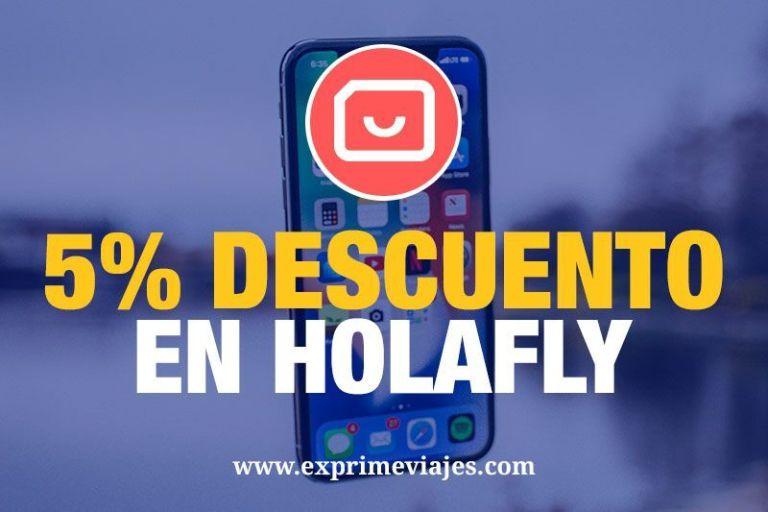 5% de descuento en Holafly para tener internet en el extranjero