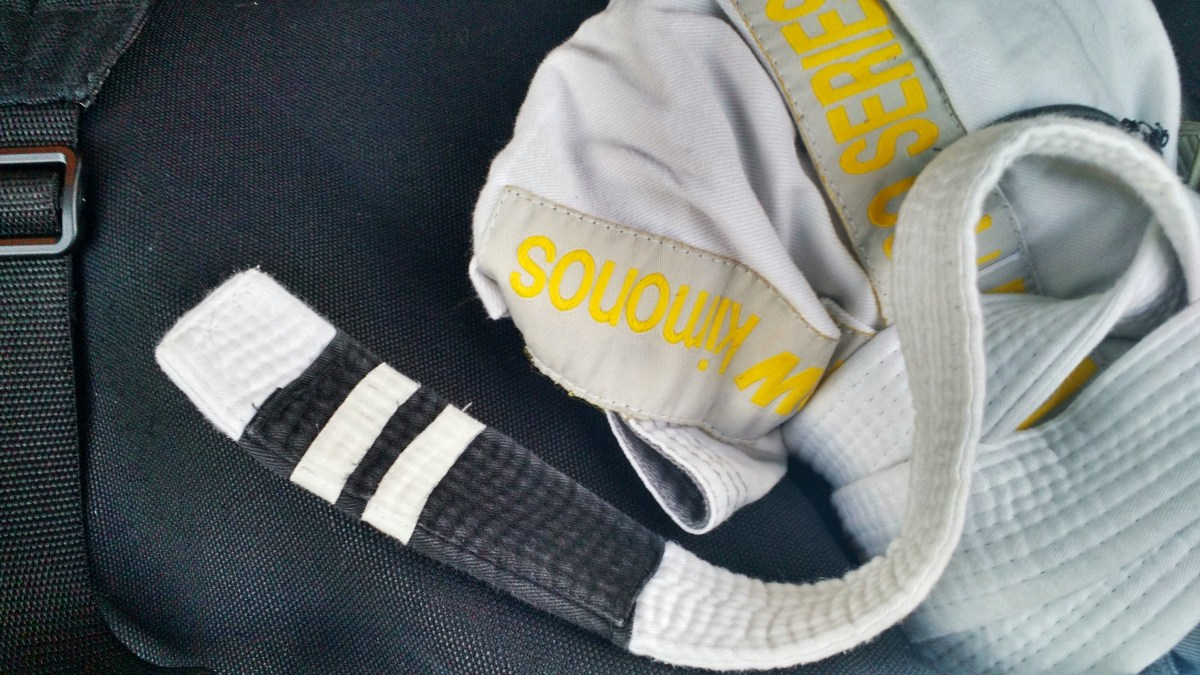 Meaning of Stripes in BJJ - Being accountable to my training