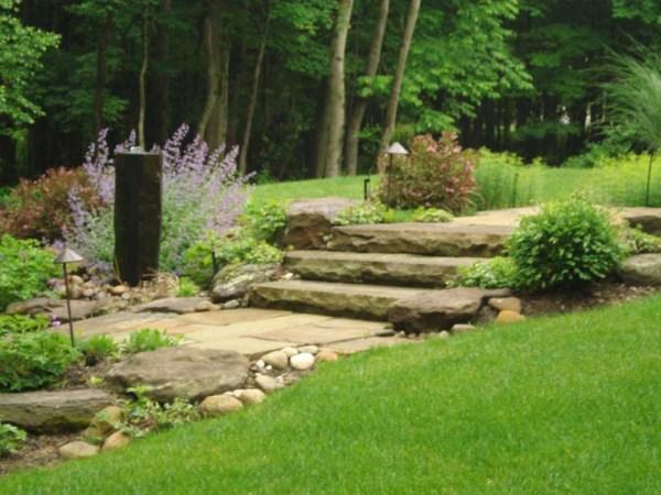 meditation garden design Custom Waterscape Design Cleveland   Exscape Designs
