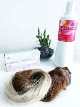 Productos utilizados: Instamatic by Color Touch de Wella.