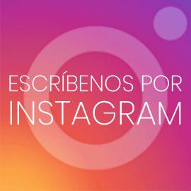 Escríbenos por Instagram