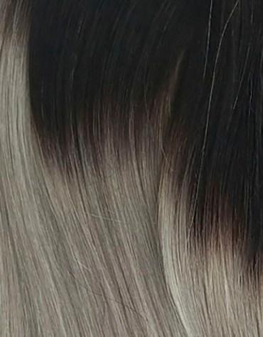 OMBRE #1B/SILVER (Negro Natural con Plata)