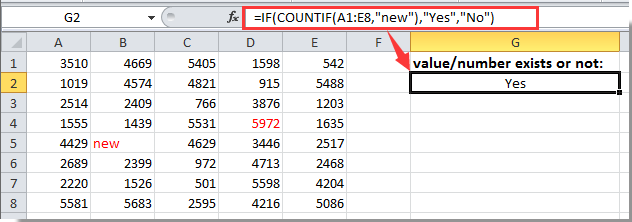 How To Determine If A Number Or Value Is In A Range In Excel