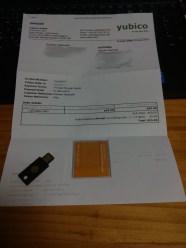 Yubico Invoice