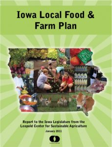 local food and farm initiative plan cover