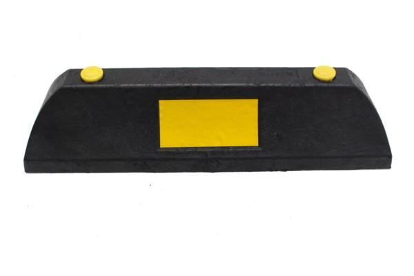樹脂製車止めブロック(小)黒2本セット