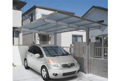 1台用フラット屋根カーポート「フラットポート 」