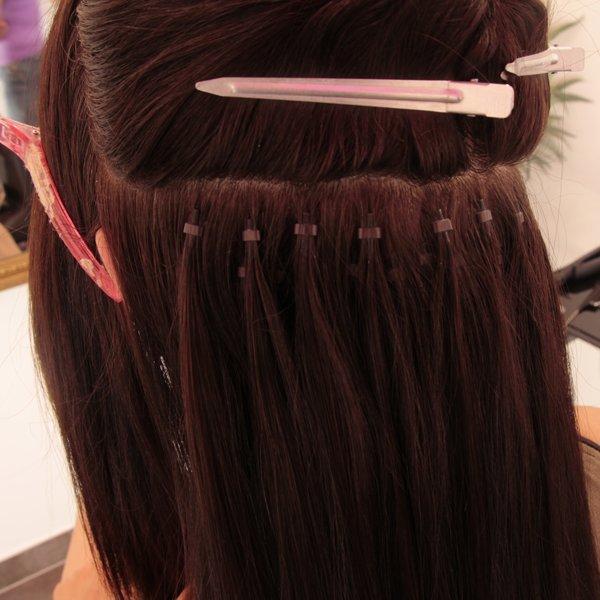 pose extension de cheveux extiff