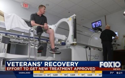 Local doctor continues to push VA to approve Hyperbaric Oxygen Therapy for veterans