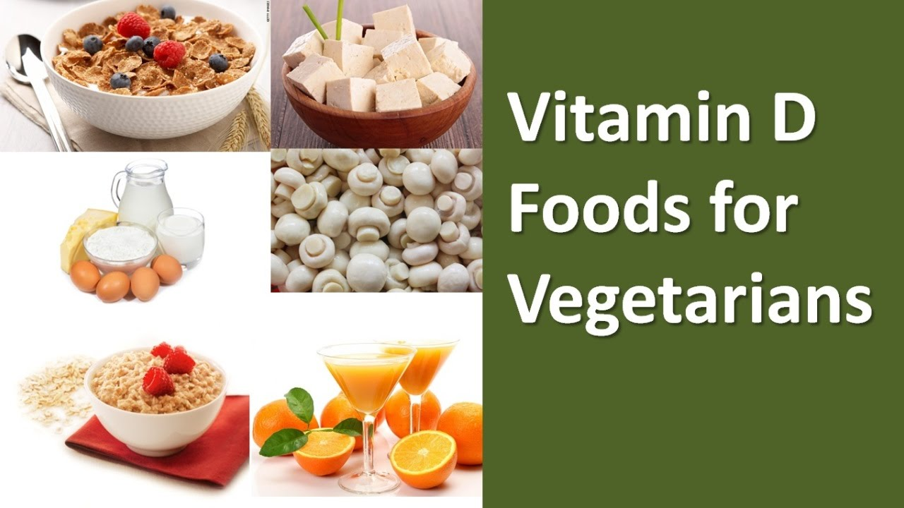 14 Delicious Vegetarian Vitamin D Rich Foods - ExtraChai