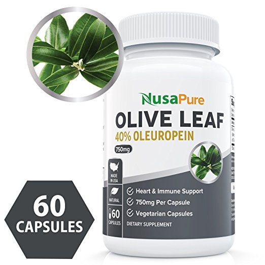 NUSA Pure, Olive Leaf , Dietary Supplement, Antioxidant