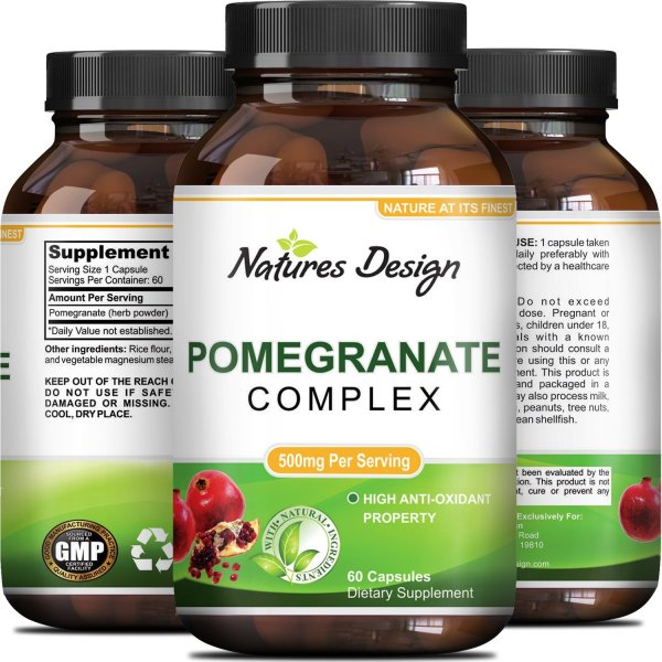 Natures Design Pomogranate Complex, Pomogranate based natral anti- oxidant formula