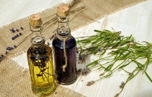 Essential oils for acne treatment