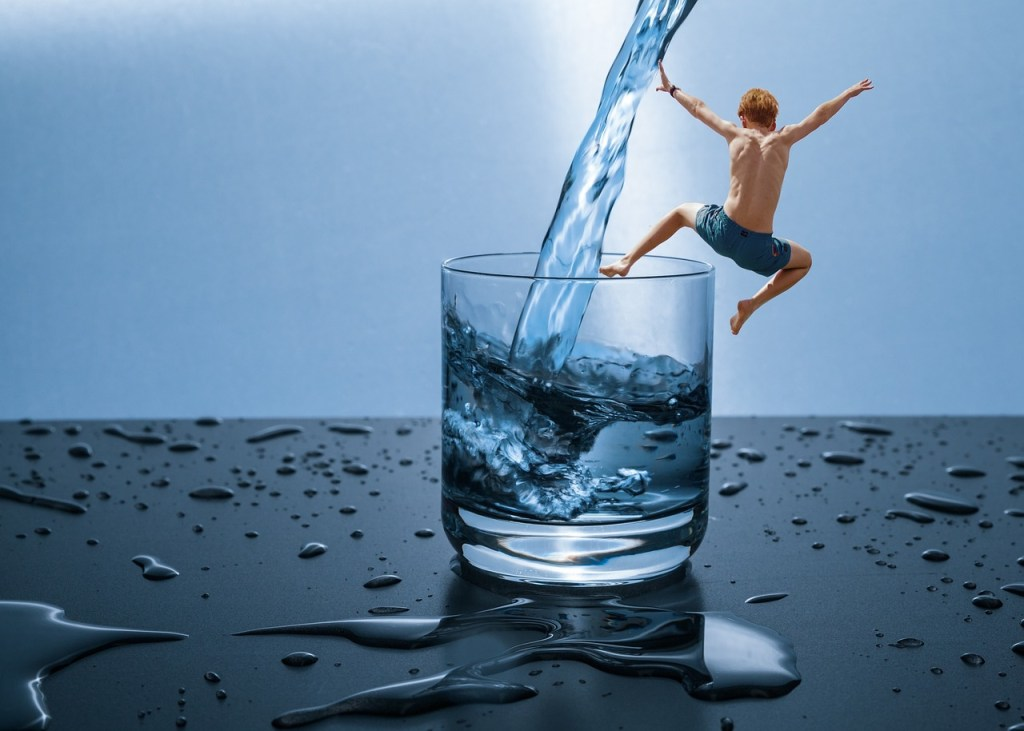 Water fasting for weight loss