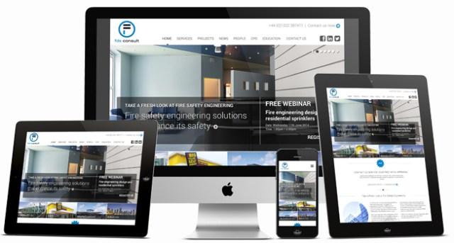 website design for FDS