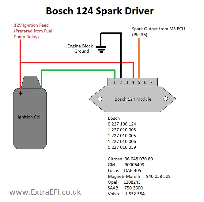 bosch electronic ignition wiring diagram  wiring diagram