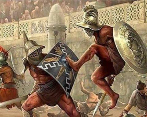 Gladiatori Colosseo Roma Arena