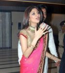 Shilpa Shetty at Shilpa Shetty engagement with Raj Kundra, Raj Kundra home in  Juhu, Mumbai (1)