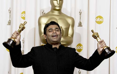 A. R. Rahman with Oscars