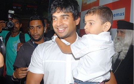 Madhavan son Vedant, Vedant