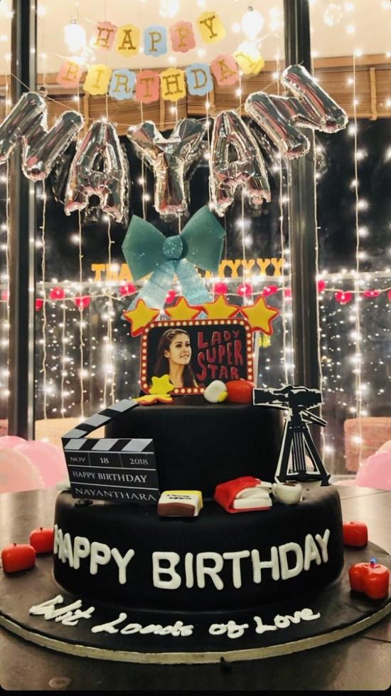 Photos Nayantaras Birthday With Vignesh Shivan