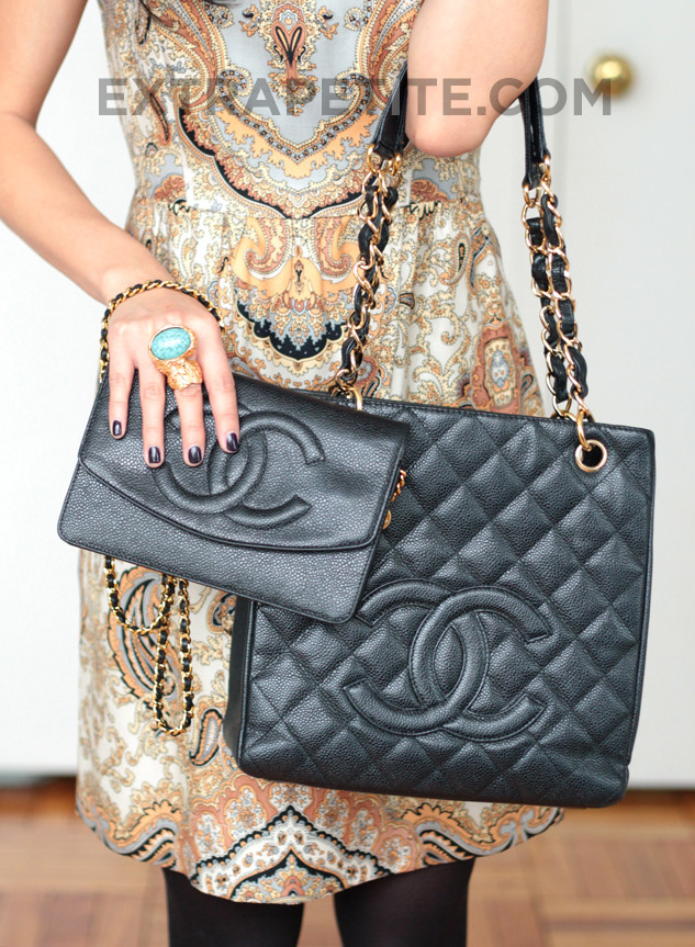Chanel Petite Shopping Tote Amp Wallet On Chain WOC Review