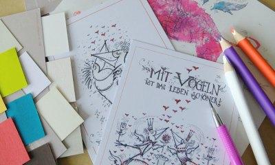 Künstlerpostkarte drucken lassen (Kai Leo Leonhardt)