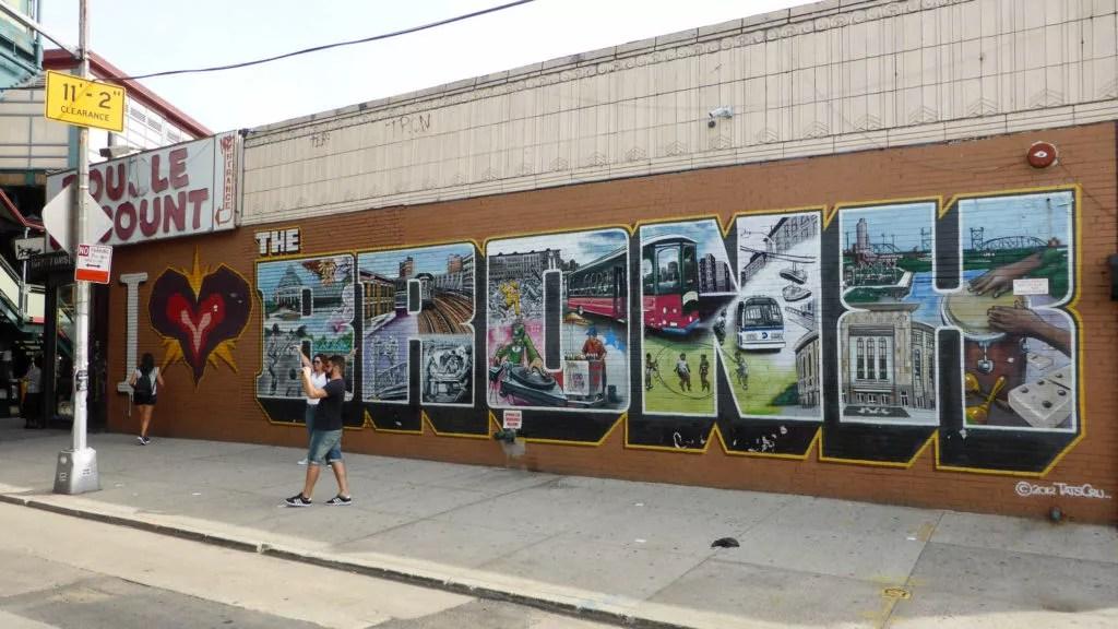 The Bronx Mural in Bronx, NY