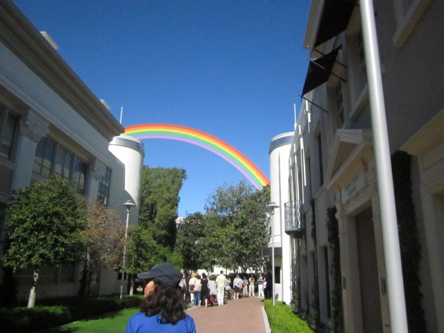 Rainbow Installation at Sony Pictures Studios