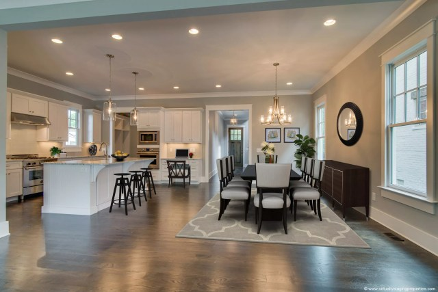 Kitchen virtually staged by Krisztina Bell, Virtually Staging Properties