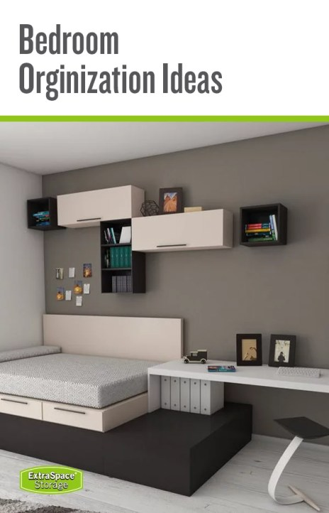 Bedroom Organize and storage ideas