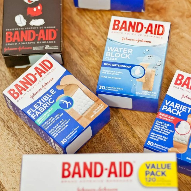 Boxes of Band-Aids. Photo by Instagram user @fsastore