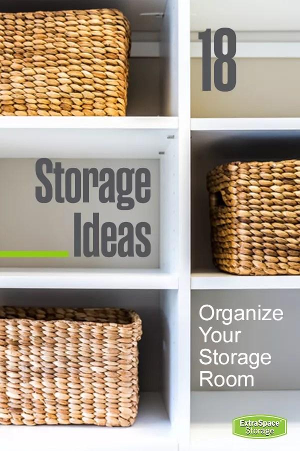18 Storage Ideas