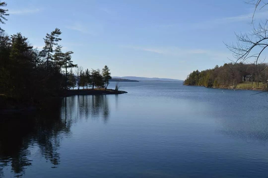 Spacious Lake in Ferrisburgh, Vermont. Photo by Instagram user @mksestokas