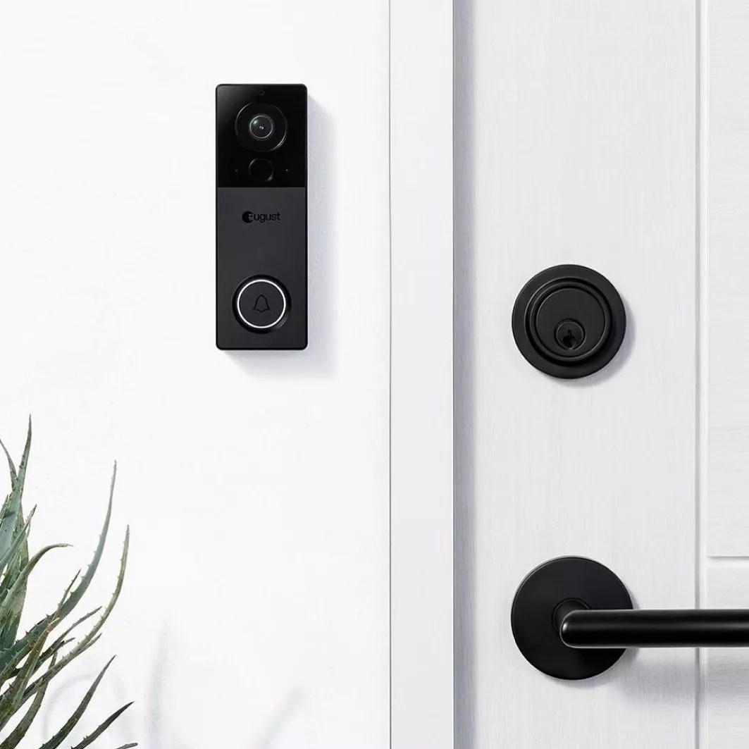 Smart doorbell. Photo by Instagram user @augusthomeinc