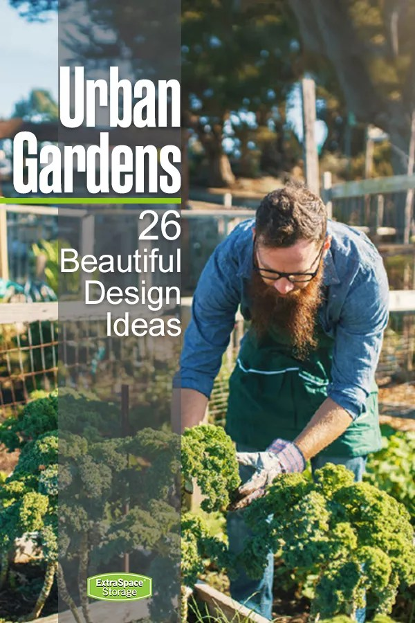 Urban Gardens: 26 Beautiful Design Ideas