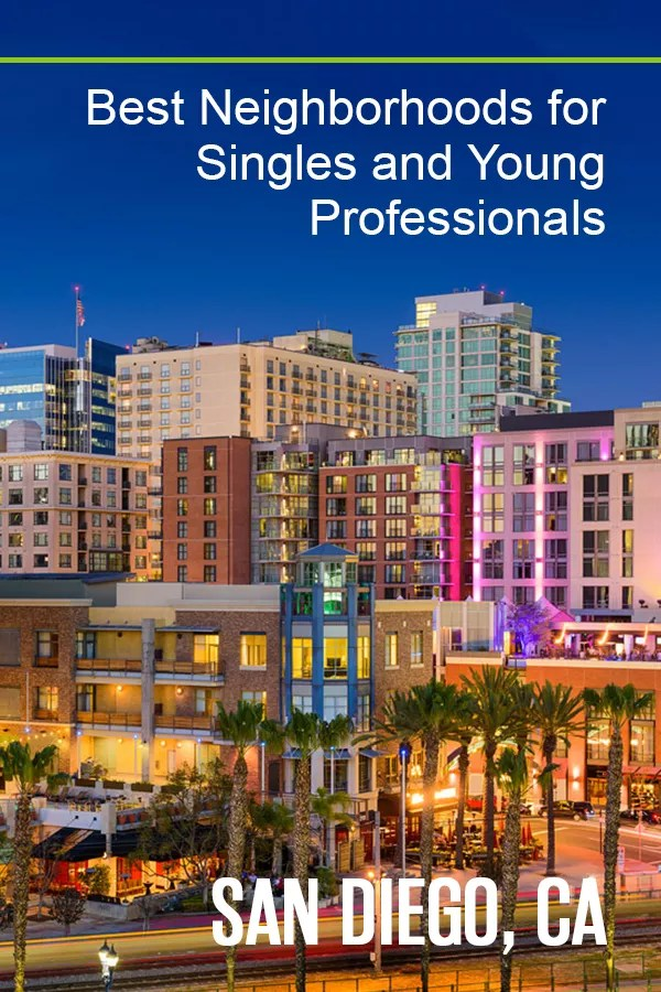 Best San Diego Neighborhoods for Singles & Young Professionals
