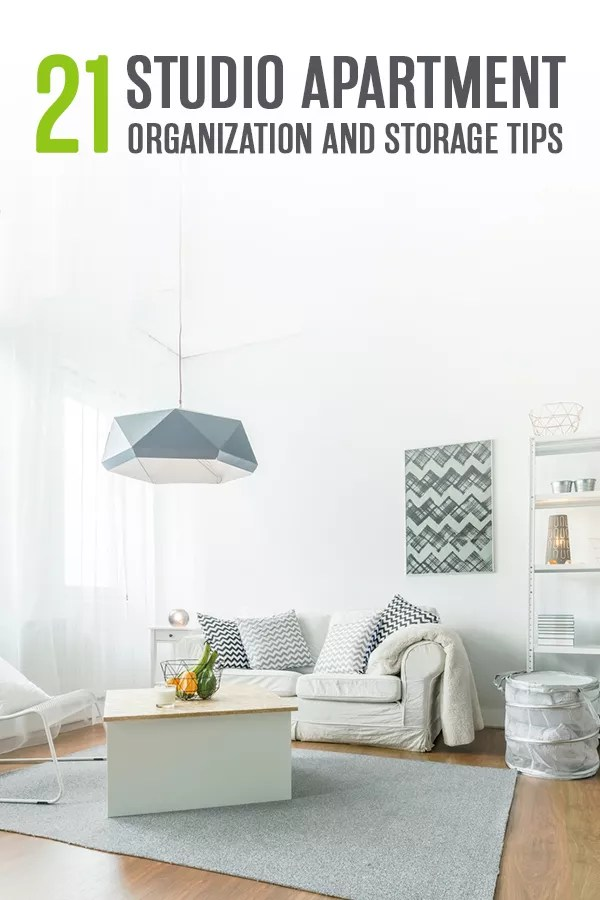 Studio Apartment Organization Tips