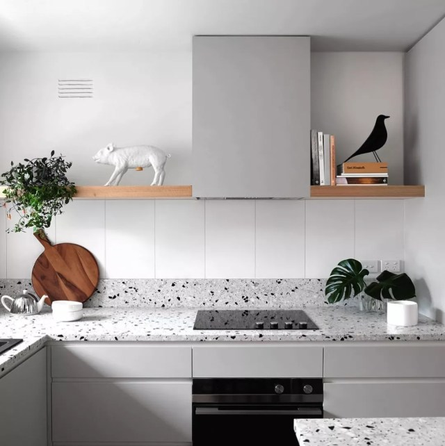Spotless Kitchen with Granite Countertops. Photo by Instagram user @ausnuance