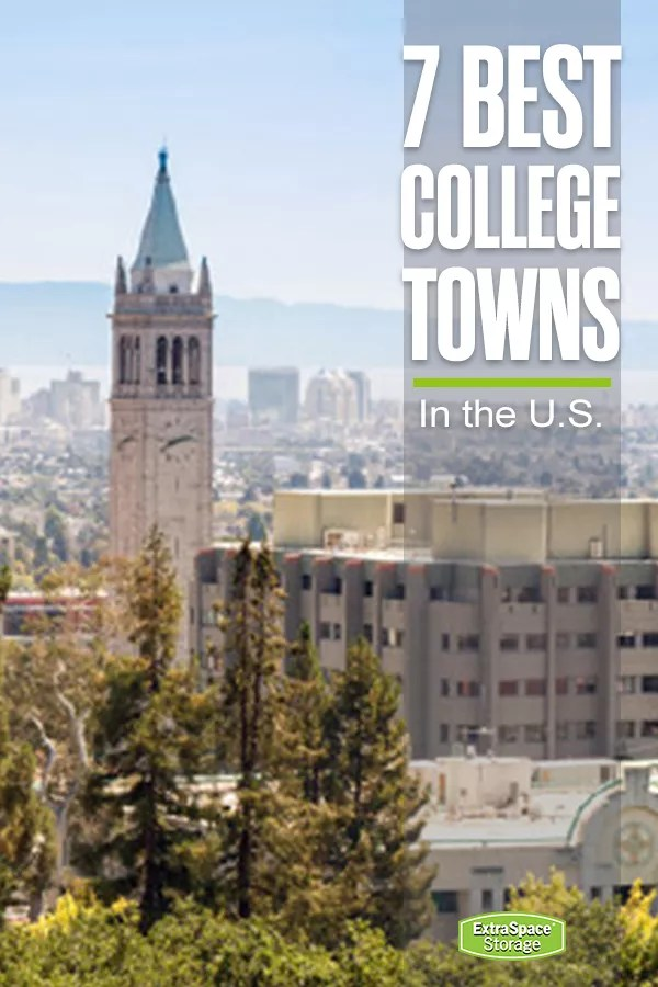 7 Best College Towns