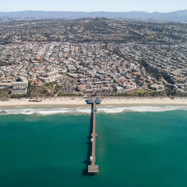 San Clemente, CA top view. Photo by Instagram user @hartman_riviera
