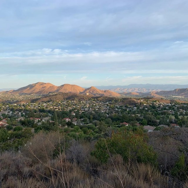 View of Thousand Oaks, CA from Los Robles Trail. Photo by Instagram user @moms_of_conejovalley