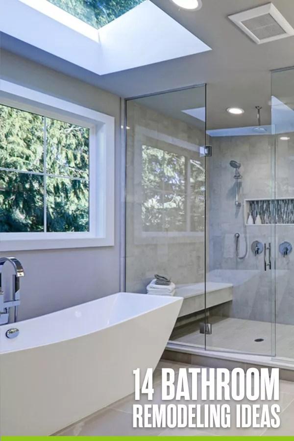 14 Bathroom Remodel Ideas