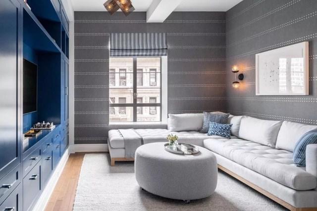 Modern minimalist living room. Photo by Instagram user @brooke.abrams.design