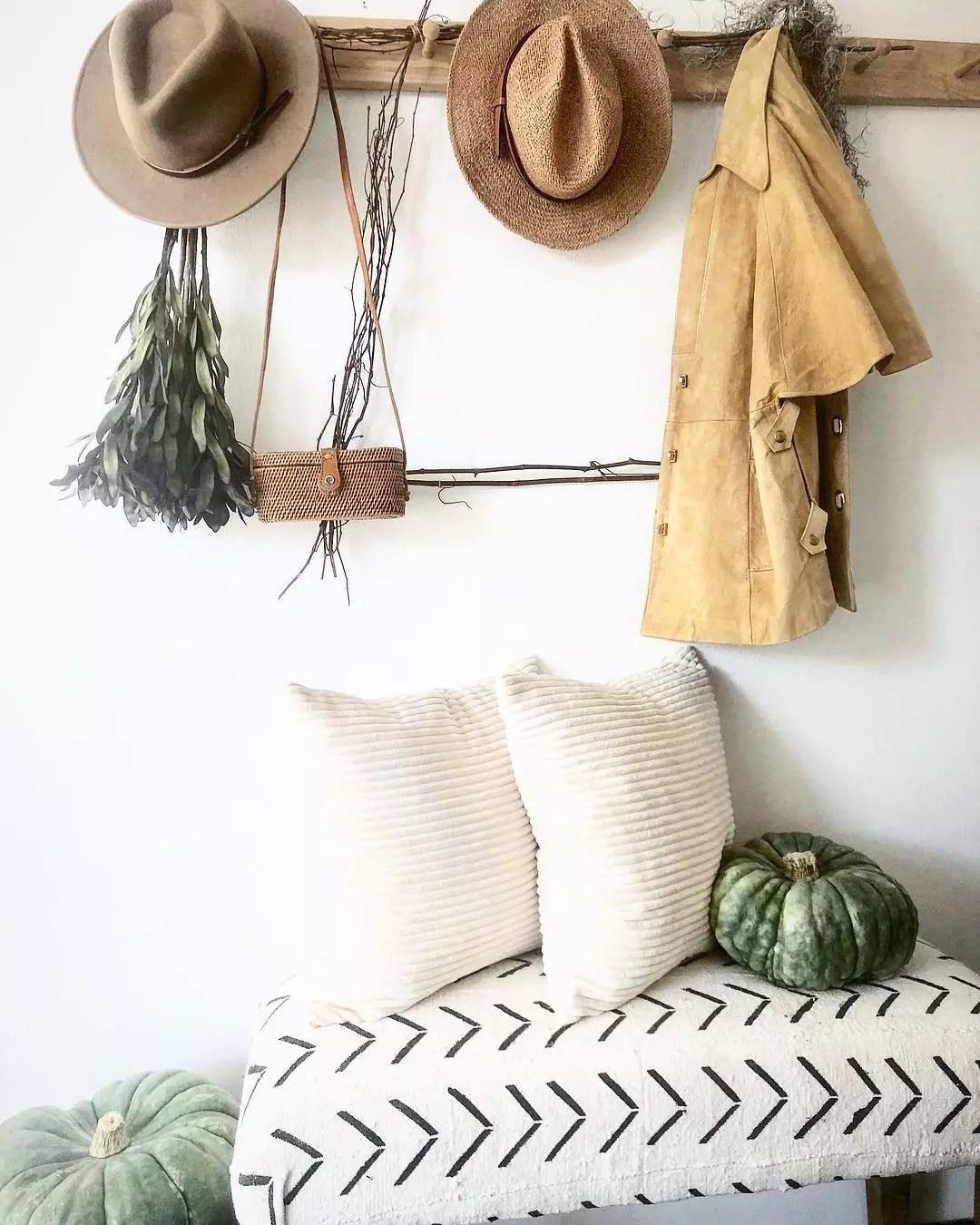 Fall decor. Photo by Instagram user @shopthreesparrows